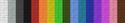 Beta wool color spectrum.