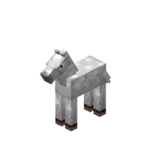 White Baby Horse with White Spots.png