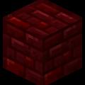 Blok czerwonej Netherowej cegły przed TU.png