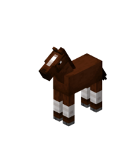 Brown Baby Horse with White Stockings.png