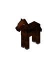 Brown Baby Horse with Black Dots.png