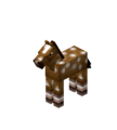 Creamy Baby Horse with White Spots.png