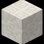 Rzeźbiony blok Netherowego kwarcu.png