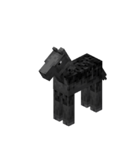 Gray Baby Horse with Black Dots.png