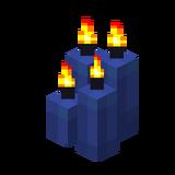 Четыре синие свечи (горящие).png