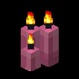Три розовые свечи (горящие).png