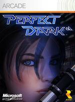 Обложка XBLA-версии игры Perfect Dark.