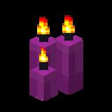 Три пурпурные свечи (горящие).png