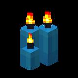 Три голубые свечи (горящие).png