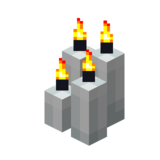 Четыре белые свечи (горящие).png