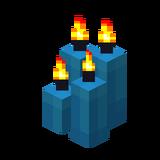 Четыре голубые свечи (горящие).png