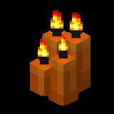 Четыре оранжевые свечи (горящие).png