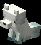 Сидящая снежная лиса.png