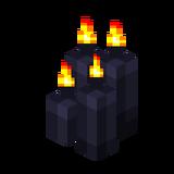 Четыре чёрные свечи (горящие).png