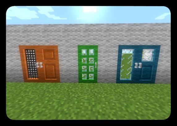 Скачать Tall Doors [1.6.4] - Разные двери для игры в minecraft