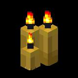 Три жёлтые свечи (горящие).png