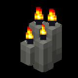 Четыре светло-серые свечи (горящие).png