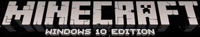 Иконка Minecraft Windows 10 Edition.png