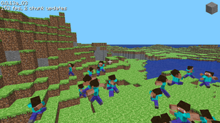 Minecraft Classic—Peoples