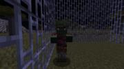 Зомби-житель в процессе лечения.