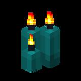 Три бирюзовые свечи (горящие).png