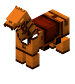 Orange Leather Horse Armor.png