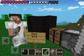 Pocket Edition 0.6.0 in game.png