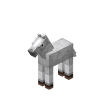 Baby White Horse with White Stockings.png