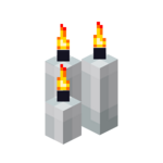 Three White Candles (lit).png