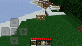 Pocket Edition 0.2.1 in game.png