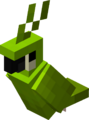 Sitting Green Parrot.png