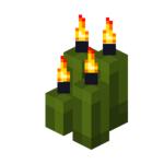 Four Green Candles (lit).png