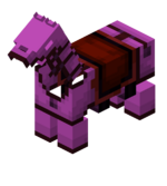 Magenta Leather Horse Armor.png