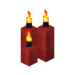Three Red Candles (lit).png