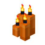 Four Orange Candles (lit).png