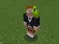 Green Parrot on Scottish Steve.png