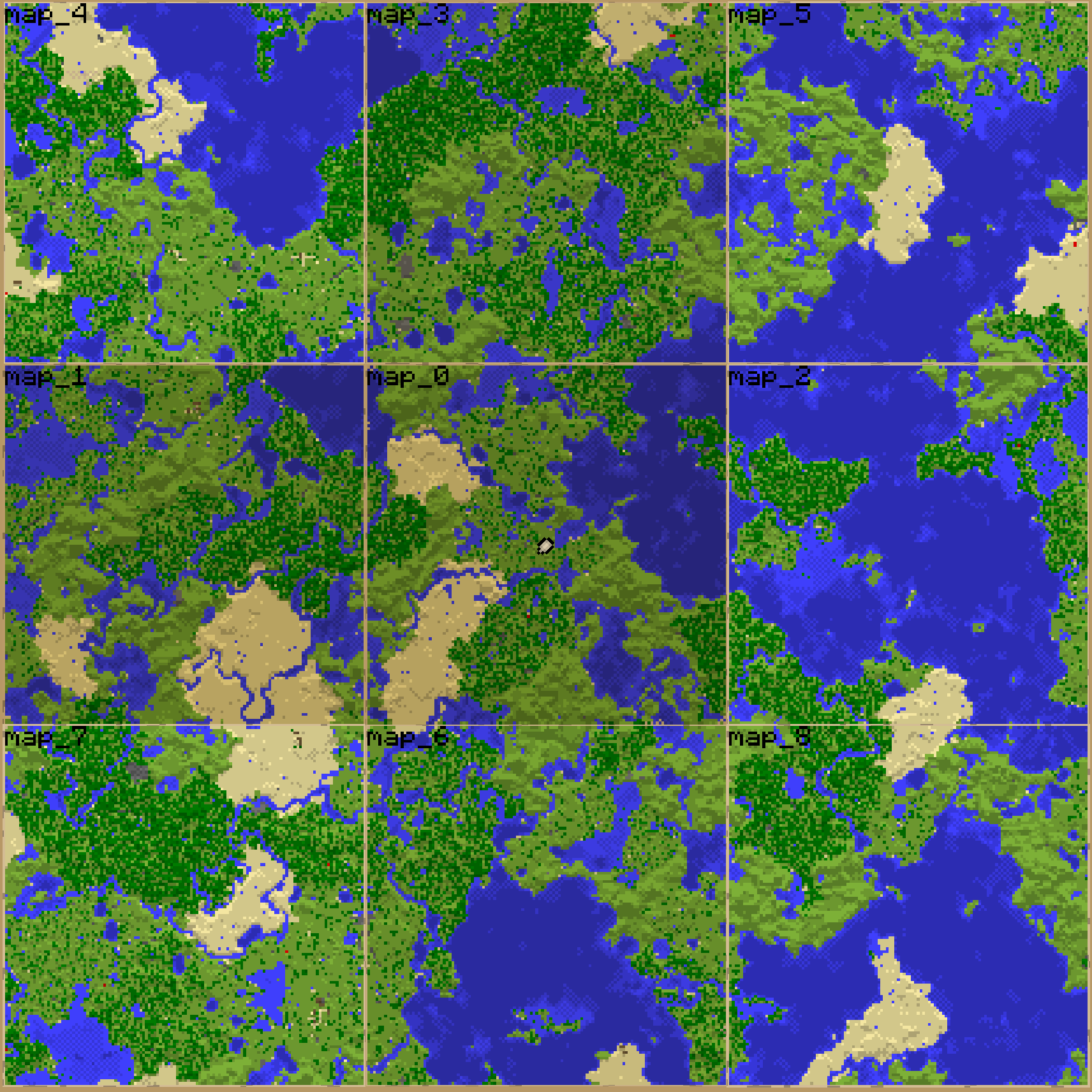 minecraft how to zoom out map