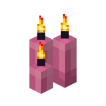 Three Pink Candles (lit).png