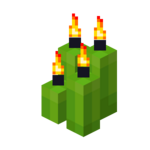 Four Lime Candles (lit).png