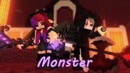 """""""Monster"""" Song by KIRA Minecraft Original Animation The Last Soul - Episode 1"""