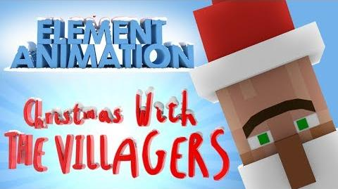 Christmas with the Villagers (Minecraft Animation)