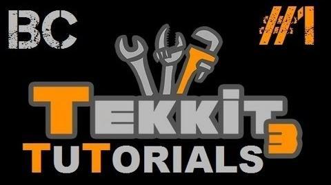 Tekkit Tutorials - BC 1 - Buildcraft Basics