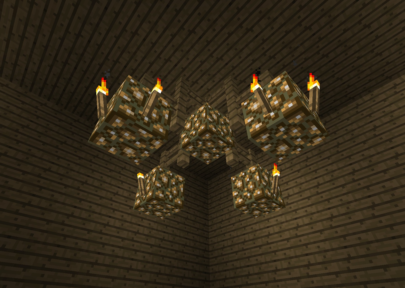Lighting Minecraftdesign Wiki Fandom, How Do You Make A Chandelier In Minecraft