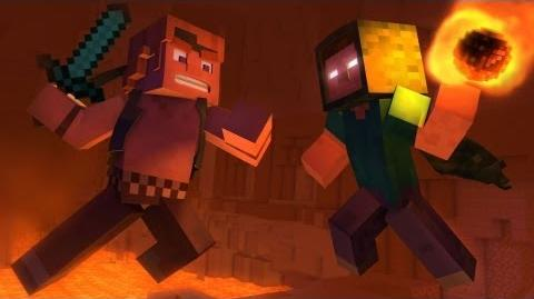 """Take Back the Night"" - A Minecraft Original Music Video"