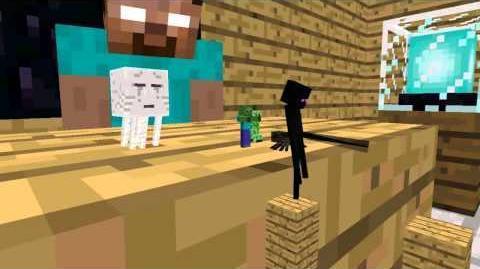 Monster School Acrobatics - Minecraft Animation
