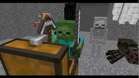 Monster School Combat - Minecraft Animation