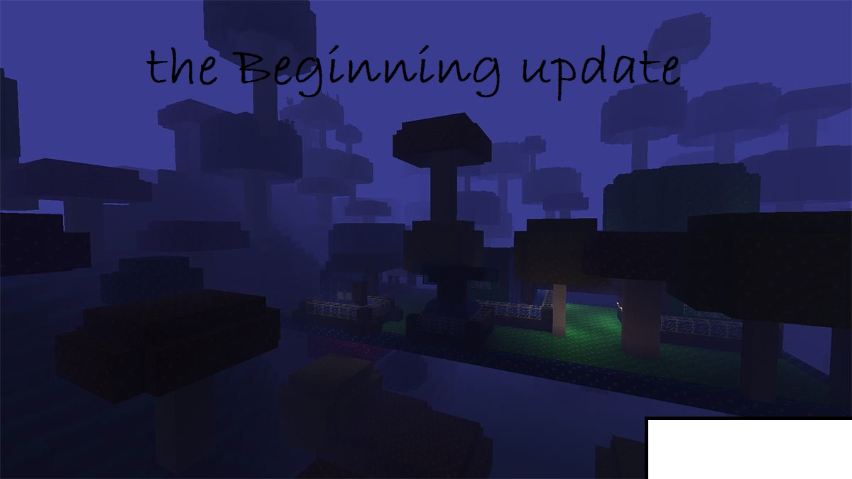 Java Edition 1.25: The Beginning update