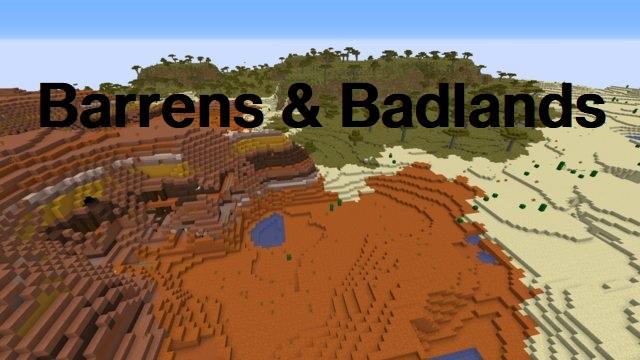 Java Edition 1.21: Barrens & Badlands