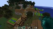 Una aldea en un Pantano