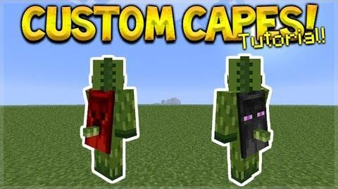 HOW TO USE CUSTOM CAPES IN MCPE 1